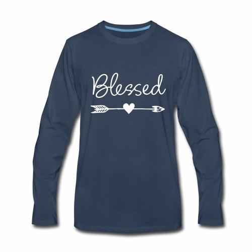 Feel Blessed - Men's Premium Long Sleeve T-Shirt