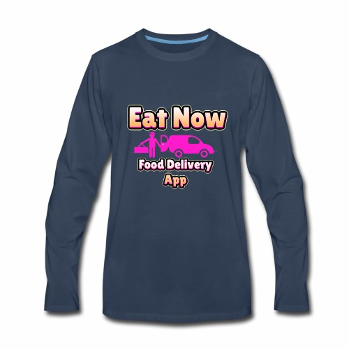 eatnowpng - Men's Premium Long Sleeve T-Shirt