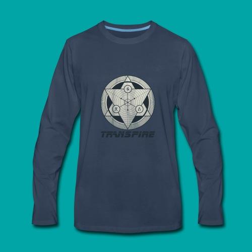 Sacred Geometry - Men's Premium Long Sleeve T-Shirt
