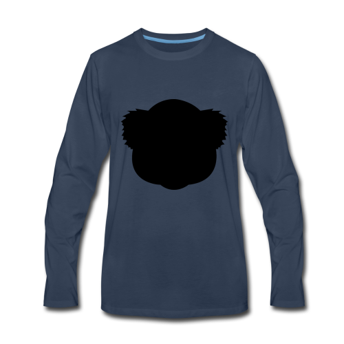 BlackKoalaLogo - Men's Premium Long Sleeve T-Shirt