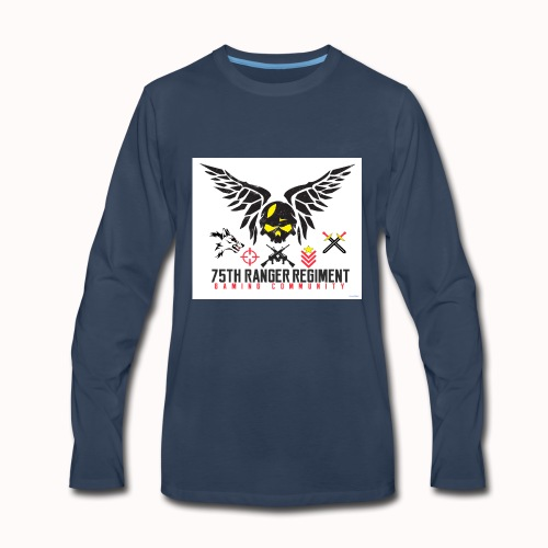 75th Ranger Regiment Gaming Community - Men's Premium Long Sleeve T-Shirt