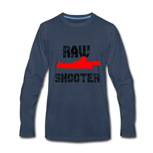 Raw Shooter - Men's Premium Long Sleeve T-Shirt