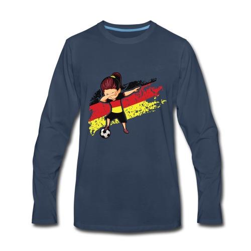 Germany flag t shirt - Men's Premium Long Sleeve T-Shirt
