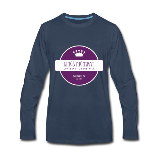 Kings Highway Conservation District - Men's Premium Long Sleeve T-Shirt