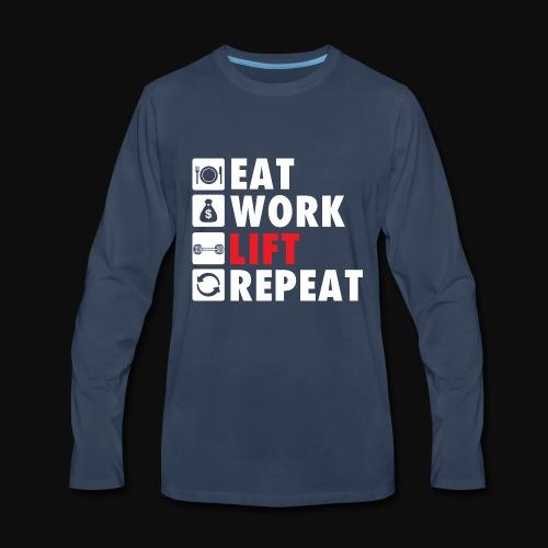 Gym Rat Life Style - Men's Premium Long Sleeve T-Shirt