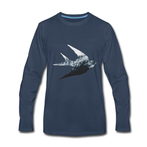 Swallow - Men's Premium Long Sleeve T-Shirt