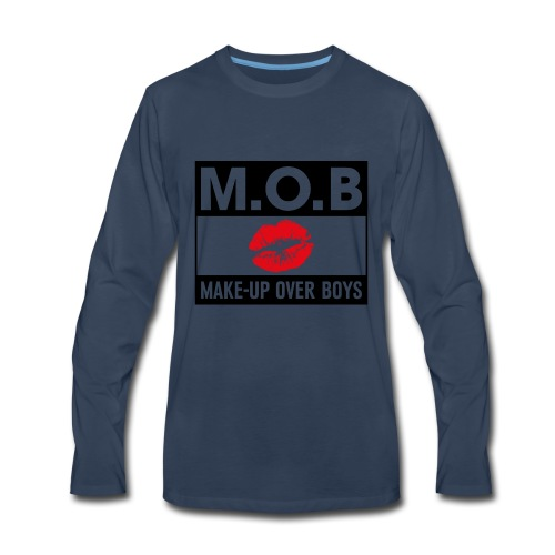 Money over boys - Men's Premium Long Sleeve T-Shirt