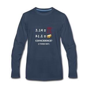 math - Men's Premium Long Sleeve T-Shirt