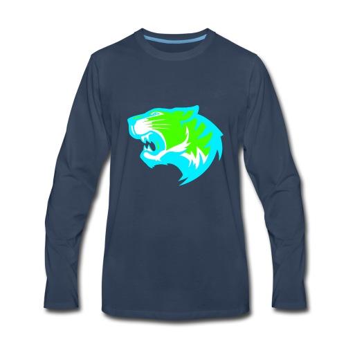 TIGER GAMING - Men's Premium Long Sleeve T-Shirt