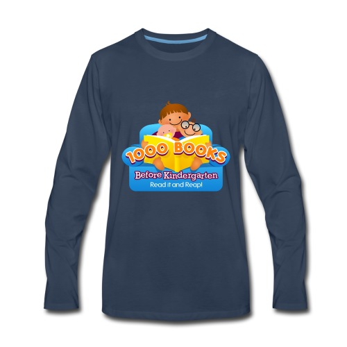 1000 Books Before Kindergarten - Men's Premium Long Sleeve T-Shirt
