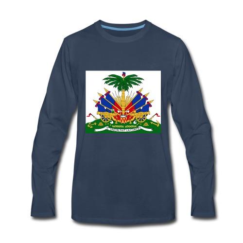 haitian 101 - Men's Premium Long Sleeve T-Shirt