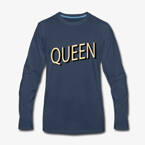 QUEEN - Men's Premium Long Sleeve T-Shirt