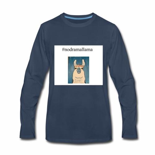 nodramallama - Men's Premium Long Sleeve T-Shirt