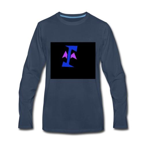 Yourmom logo - Men's Premium Long Sleeve T-Shirt
