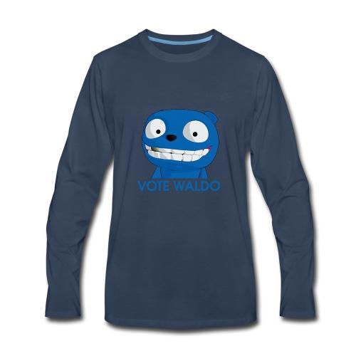 Vote Waldo - Men's Premium Long Sleeve T-Shirt
