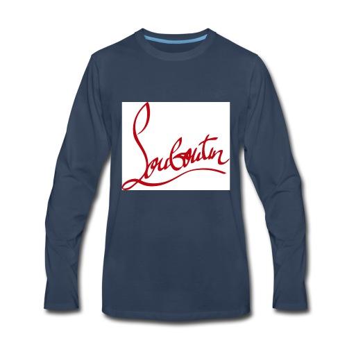 Christian Louboutin T shirts Tee shirts Tees Red B - Men's Premium Long Sleeve T-Shirt