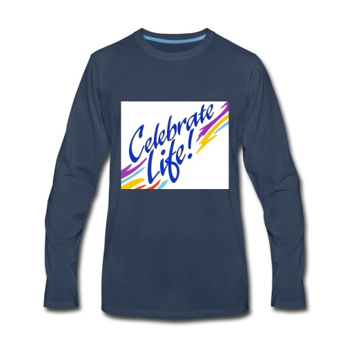 Celebrate Life Products - Men's Premium Long Sleeve T-Shirt