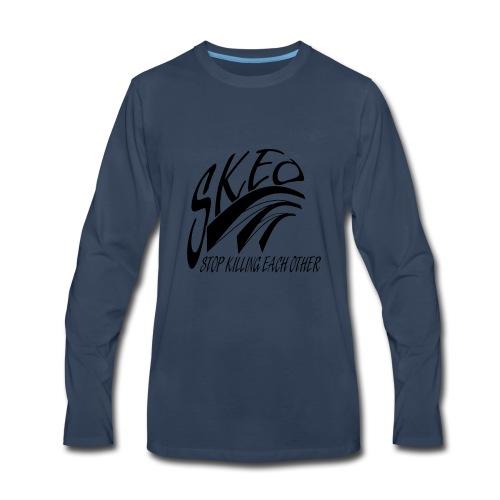 SKEO - Black - Men's Premium Long Sleeve T-Shirt