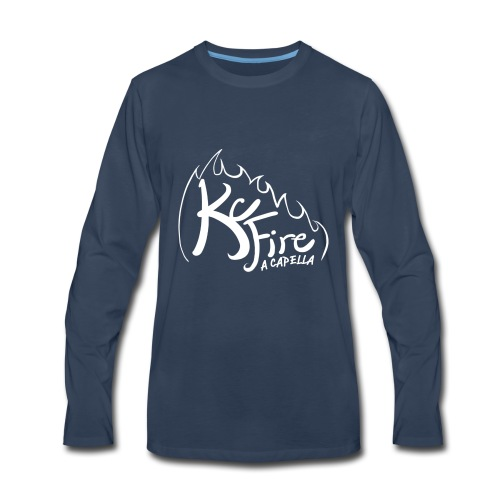 KC Fire Bright Design - Men's Premium Long Sleeve T-Shirt