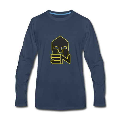 EDGE_LOGO_2-0 - Men's Premium Long Sleeve T-Shirt