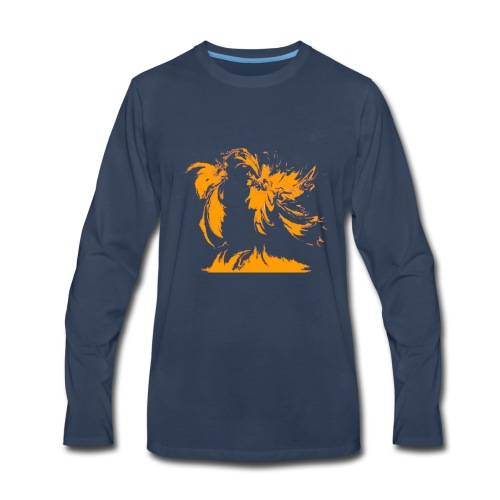 Map - Men's Premium Long Sleeve T-Shirt