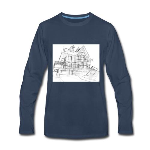 House - Men's Premium Long Sleeve T-Shirt