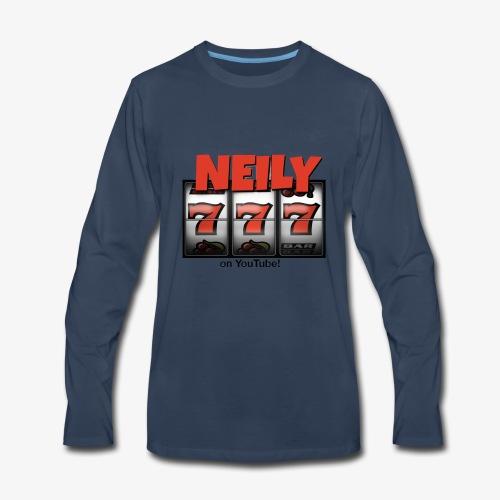 Neily777 logo - Men's Premium Long Sleeve T-Shirt