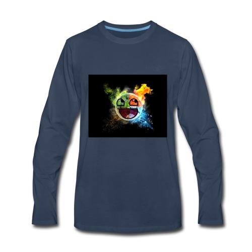Smiley seasons - Men's Premium Long Sleeve T-Shirt