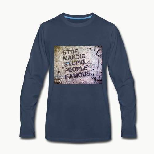 Making People Famous - Men's Premium Long Sleeve T-Shirt