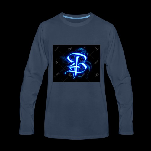 BRANDYNGAMERTV LOGO - Men's Premium Long Sleeve T-Shirt