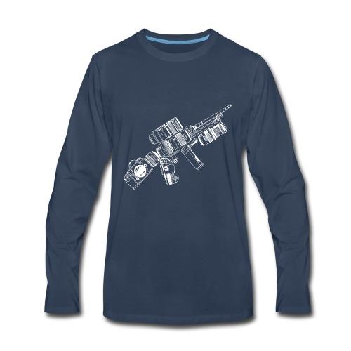 CAMERA Photography Tactical - Men's Premium Long Sleeve T-Shirt
