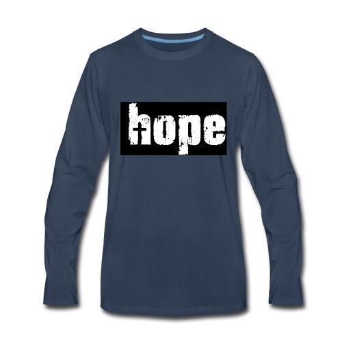1-Hope - Men's Premium Long Sleeve T-Shirt