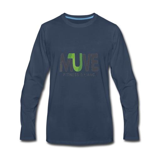 MUve Dance Fitness - Men's Premium Long Sleeve T-Shirt