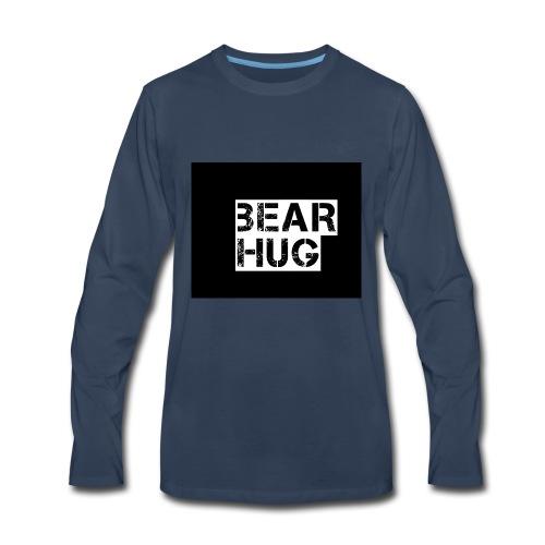 BEAR HUG - Men's Premium Long Sleeve T-Shirt