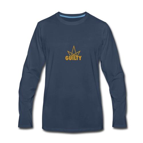 Guilty Logo - Men's Premium Long Sleeve T-Shirt