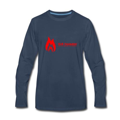 SLO thunder official logo - Men's Premium Long Sleeve T-Shirt