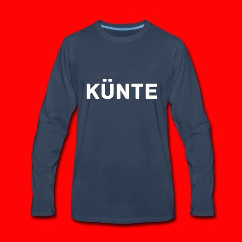 künte side - Men's Premium Long Sleeve T-Shirt