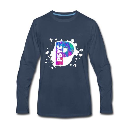 PSYC Channel Art Design - Men's Premium Long Sleeve T-Shirt