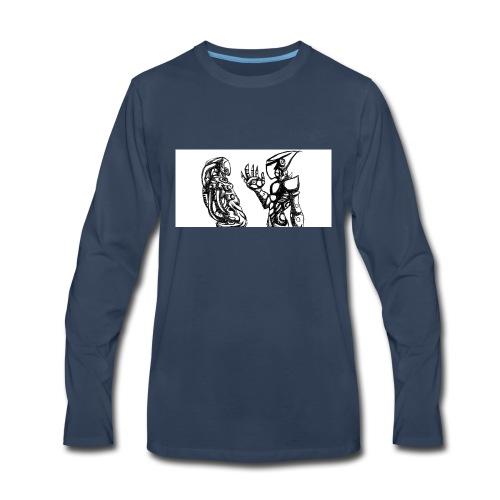 ROBOT ARMY - Men's Premium Long Sleeve T-Shirt