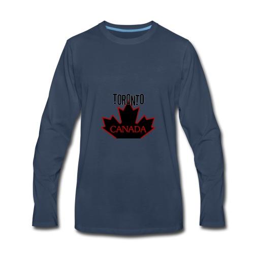 TORONTO CANADA - Men's Premium Long Sleeve T-Shirt