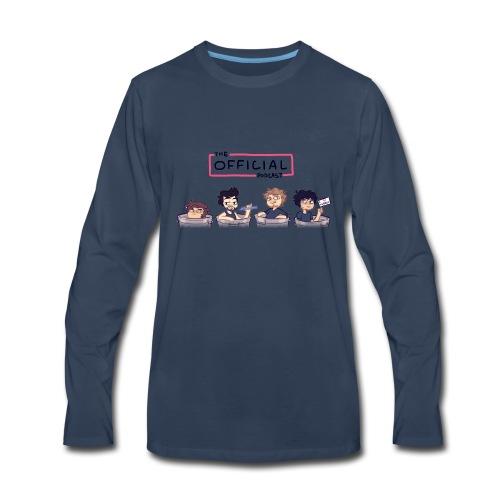 The Official Phone Case - Men's Premium Long Sleeve T-Shirt