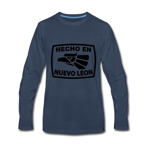 HECHO EN NUEVO LEON - Men's Premium Long Sleeve T-Shirt