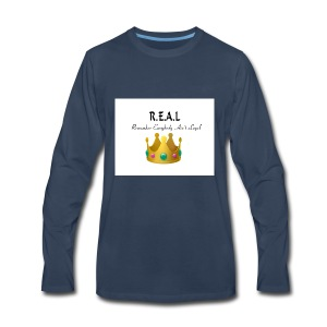 REALcrown - Men's Premium Long Sleeve T-Shirt