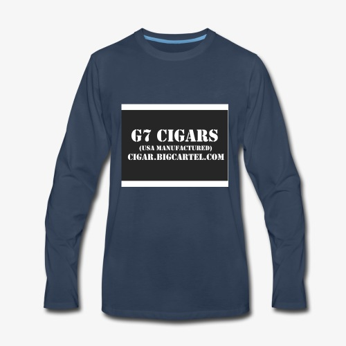 G7 Cigars Apparel - Men's Premium Long Sleeve T-Shirt