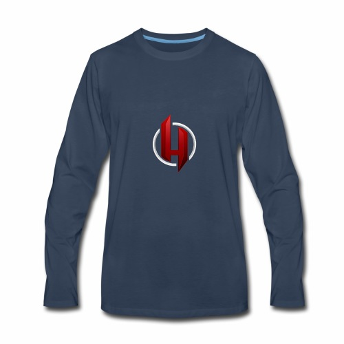 harsh ch logo for cothes - Men's Premium Long Sleeve T-Shirt