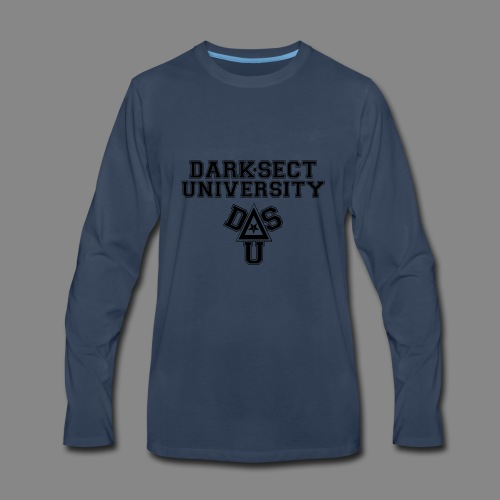 DARKSECT UNIVERSITY - Men's Premium Long Sleeve T-Shirt