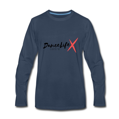 DL-Logo-Master - Men's Premium Long Sleeve T-Shirt