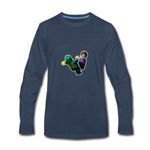 Lego Bucky Barnes Vs Hydra Soldier - Men's Premium Long Sleeve T-Shirt
