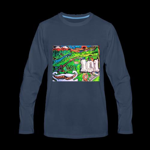 Tri counties - Men's Premium Long Sleeve T-Shirt