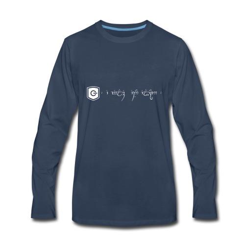 The Loving Heart of an Elf - Men's Premium Long Sleeve T-Shirt